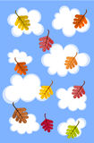 Cloudy autumn sky Royalty Free Stock Images