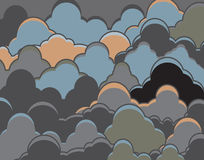 Cloudy background Royalty Free Stock Photo
