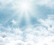 Cloudy background#2 Stock Image