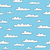Cloudy background Stock Image