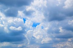 Cloudy background in the sky. 1710080022 Royalty Free Stock Photography