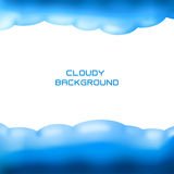 Cloudy background Royalty Free Stock Photos