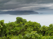 Cloudy Bay of Marlborough Sounds New Zealand Stock Photography