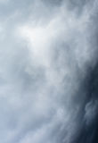 Cloudy and black color Stock Image