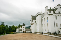 Cloudy Blair castle Stock Photography