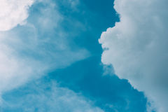 Cloudy blue sky. Abstract background Royalty Free Stock Images