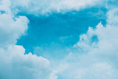 Cloudy blue sky. Abstract background Royalty Free Stock Photo