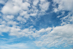 Cloudy blue sky Royalty Free Stock Images