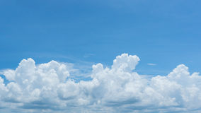 Cloudy Blue Sky Stock Photography