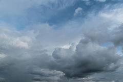 Cloudy and blue sky Stock Photos