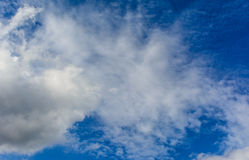 Cloudy and blue sky Royalty Free Stock Photo