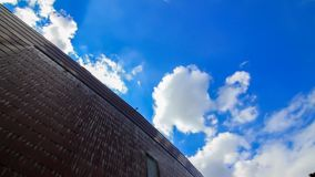 Cloudy and Blue Sky Royalty Free Stock Image