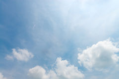 Cloudy blue sky Royalty Free Stock Image