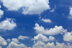Cloudy and blue Stock Photos