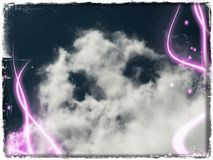 Cloudy Royalty Free Stock Photo