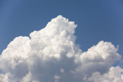 Cloudy day. A cloudy sky taken in south Turkey. 15minutes before heavy rain Royalty Free Stock Images