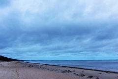 Cloudy day on the Baltic Sea Stock Images