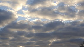 A cloudy day royalty free stock photos