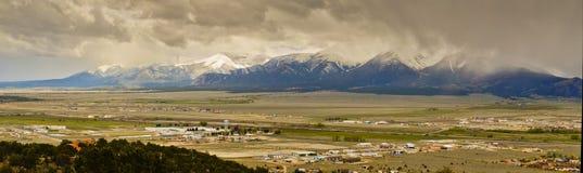 Cloudy day in Colorado Stock Photos