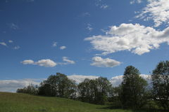 Cloudy day Royalty Free Stock Photography