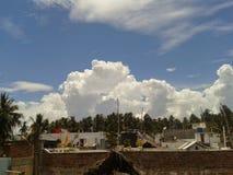 Cloudy day. Like Heavy rain Stock Photography