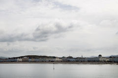 Cloudy day in Llandudno North Wales Royalty Free Stock Image