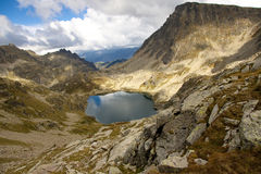 Cloudy day - Pyrenees, Andorra Royalty Free Stock Photography