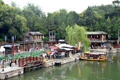 Cloudy Day at Summer Palace, Beijing, China stock photos