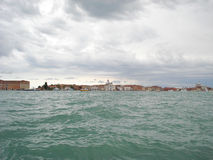Cloudy day in Venice Royalty Free Stock Photos