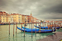 Cloudy day in Venice Royalty Free Stock Photography