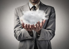 Cloudy future Royalty Free Stock Images