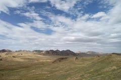 Cloudy Grassland. Qinghai-Tibet Plateau stock photography
