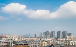 Cloudy guiyang city Royalty Free Stock Photos