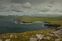 Cloudy Ireland Stock Photo