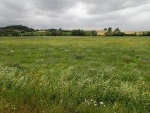 cloudy krajobrazu Zdjęcia Stock