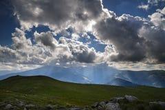 cloudy krajobrazu Obraz Royalty Free