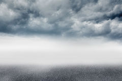 Cloudy landscape background Royalty Free Stock Photos