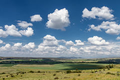 Cloudy landscape Royalty Free Stock Photography