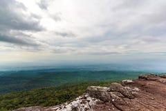 Cloudy landscape Stock Image