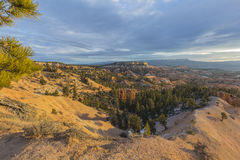 Cloudy Morning at Bryce Canyon National Park in Southern Utah stock images