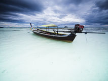 Cloudy morning on Koh Lipe island. Thailand Royalty Free Stock Images