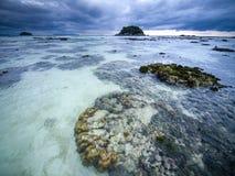 Cloudy morning on Koh Lipe island. Thailand Royalty Free Stock Photo