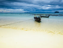 Cloudy morning on Koh Lipe island. Thailand Stock Photography