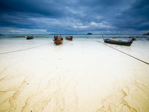Cloudy morning on Koh Lipe island. Thailand Stock Photo