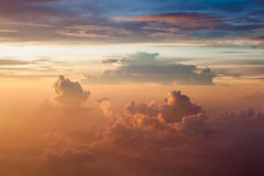 Cloudy Morning Sky. Stock Photo