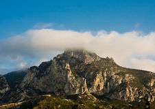 Cloudy Mountain Stock Photos