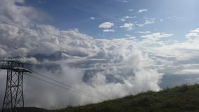 Cloudy mountain Royalty Free Stock Photography