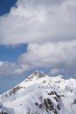 Cloudy mountain landscape of Krasnaya Polyana Royalty Free Stock Photos
