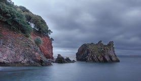 Cloudy ocean stock photos