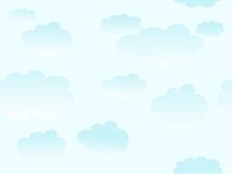 Cloudy pattern Royalty Free Stock Images